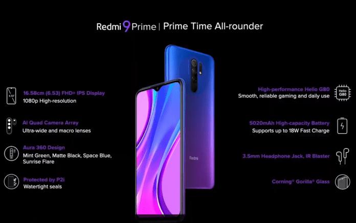 Xiaomi Redmi 9 Prime FAQ